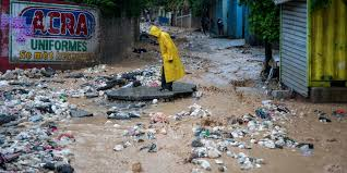 TROPICAL STORM LAURA HAS CAUSED MUCH DAMAGE IN HAITI
